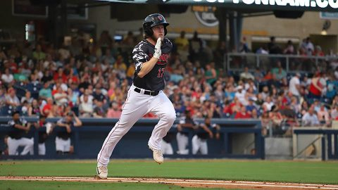 Three-Run Ninth and Four-Run 11th Guide Nashville Sounds in Road Trip Finale against Salt Lake Bees. (Nashville Sounds)