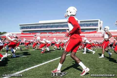Austin Peay State University begins practice August 3rd. (APSU Sports Information)