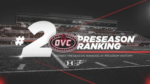 Austin Peay State University Football selected to Finish 2nd in OVC Preseason Football Poll. (APSU Sports Information)