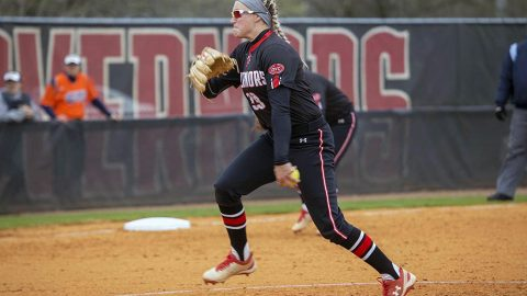 Austin Peay Softball pitcher Morgan Rackel. (APSU Sports Information)