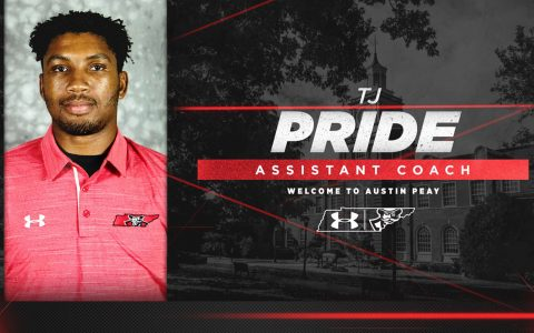 Austin Peay announces TJ Pride joins Track and Field coaching staff. (APSU Sports Information)