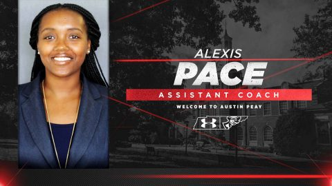 Austin Peay State University Women's Basketball assistant coach Alexis Pace. (APSU Sports Information)