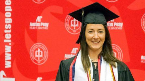 Austin Peay State University Women's Tennis' Brittney Covington. (APSU Sports Information)