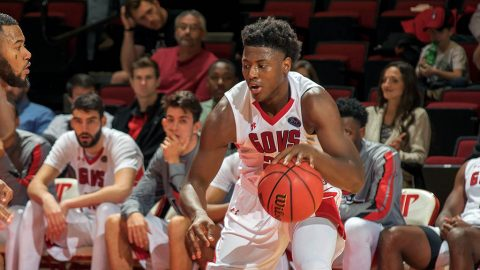 Austin Peay Men's Basketball's Terry Taylor has named OVC Freshman of the Year. (APSU Sports Information)