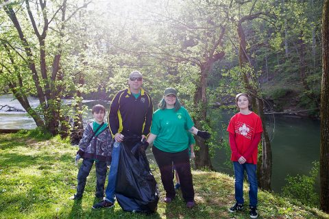Volunteers needed for Clarksville Parks and Recreation's Billy Dunlop Park Cleanup.