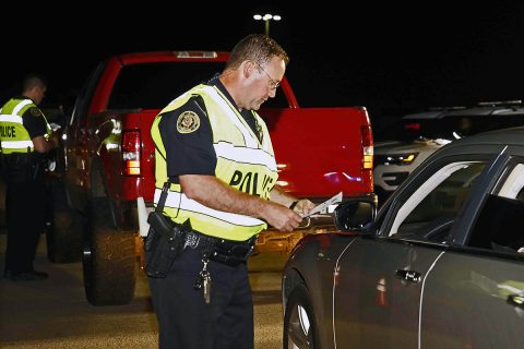 Clarksville Police Department and the Tennessee Highway Patrol conduct a DUI Checkpoint/Saturation patrol.