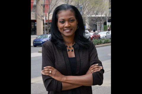 DarKenya Waller, Executive Director, Legal Aid Society.