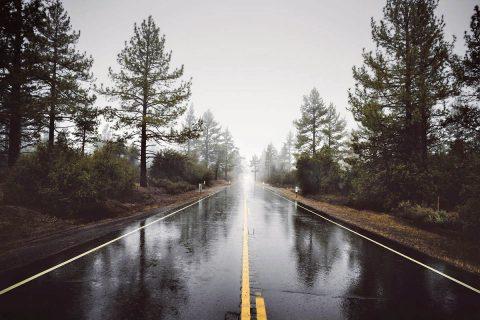 Rainy Highway.