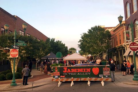 Joel Brown Band to headline Jammin' in the Alley this Friday.