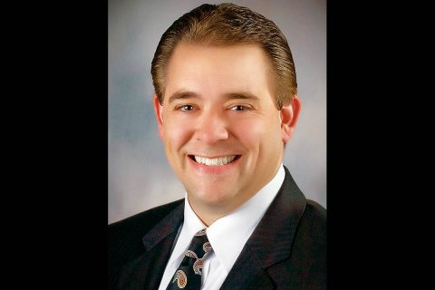 Clarksville Area Chamber of Commerce Board Chairman Jay Albertia.