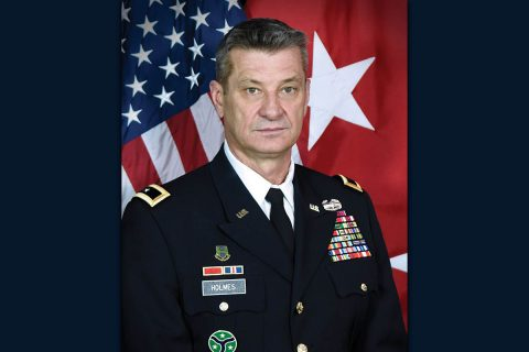 Major General Jeff Holmes, Tennessee National Guard.
