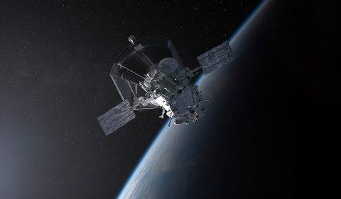 Illustration of NASA's Parker Solar Probe leaving Earth. (NASA/Johns Hopkins APL/Steve Gribben)