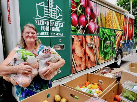 Along with Partners and Volunteers, Second Harvest Food Bank of Middle Tennessee Continues Finding Innovative Ways to Solve Hunger Issues in Our Communities