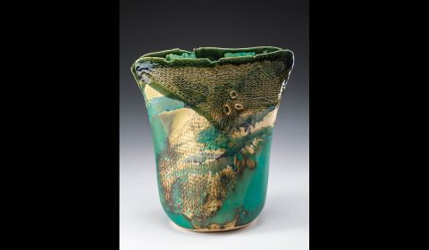 Tennessee Craft: Lisa Kurtz - Hydrangea Vase