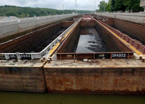 The U.S. Army Corps of Engineers Nashville District is offering public access to Cheatham Navigation Lock located at Cumberland River mile 148.7 in Ashland City, Tennessee. (USACE Photo by Leon Roberts)