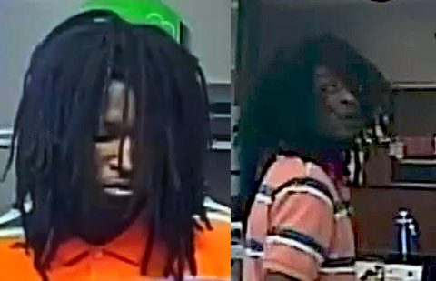 U.S. Bank Robbery suspect.