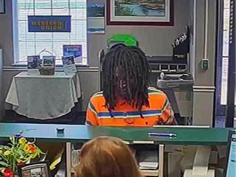 The person in this photo is wanted by Clarksville Police for the robbery of the U.S. Bank at 3301 Fort Campbell Boulevard.