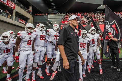 Austin Peay Governors Football plays Georgia Bulldogs at 2:30pm CT this Saturday at Sanford Stadium. (APSU Sports Information)