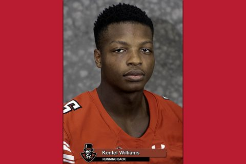 2018 APSU Football - Kentel Williams