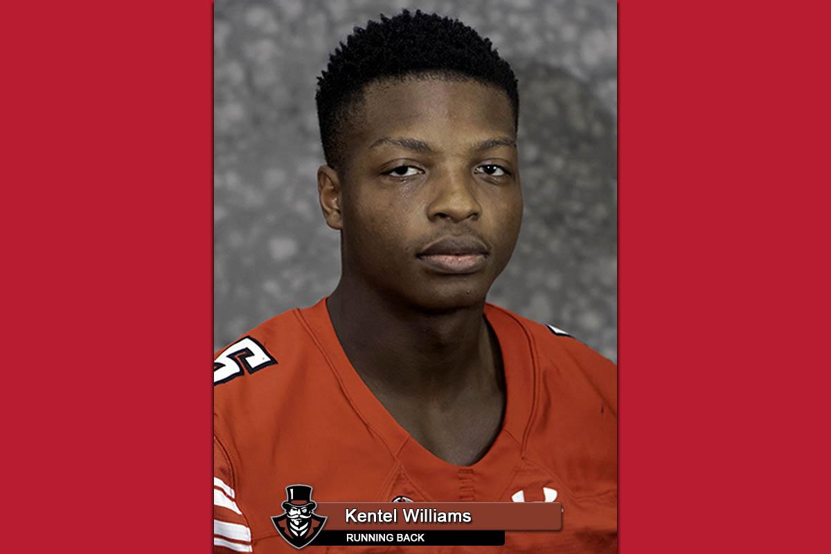 2018 APSU Football - Kentel Williams
