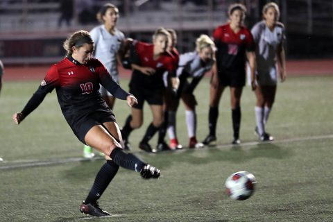 Austin Peay Women's Soccer played Western Kentucky to a 1-1 draw against Western Kentucky at Morgan Brothers Soccer Field Saturday night. (Robert Smith, APSU Sports Information)