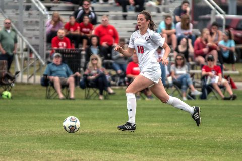 Austin Peay Women's Soccer roars back from an early deficit to beat Mississippi Valley State 4-1 Friday night. (APSU Sports Information)