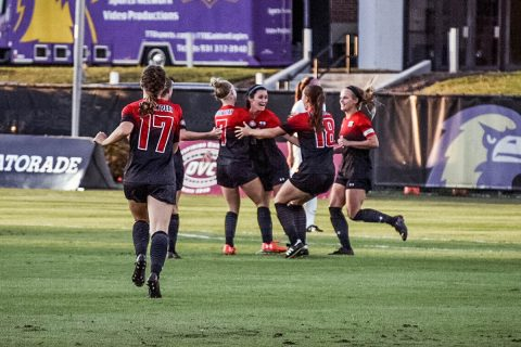Austin Peay Women's Soccer gets 1-0 home win over Middle Tennessee Friday night. (APSU Sports Information)