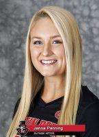 2018 APSU Volleyball - Jenna Panning