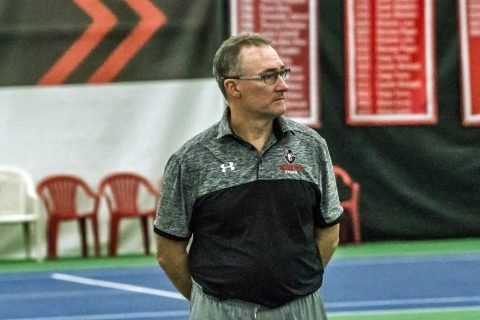 Austin Peay Women's Tennis' head coach Ross Brown. (APSU Sports Information)