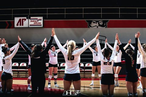 Austin Peay Women's Volleyball opens 2018 season with two wins. (APSU Sports Information)