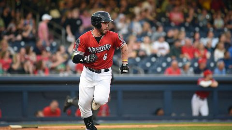 Nashville Sounds catcher Beau Taylor's Go-Ahead Base Hit Helps Snap Four-Game Skid. (Nashville Sounds)
