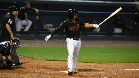 Round Rock Express Spoil Nashville Sounds Second Baseman Franklin Barreto's 3-Hit Game with Four-Run First. (Nashville Sounds)