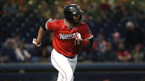Jesus Luzardo has a rare rough outing as Nashville Sounds drop series opener to Memphis Redbirds. (Nashville Sounds)