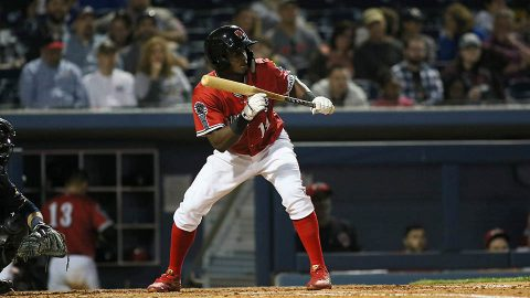 Memphis Redbirds clinches division with 9th-inning rally against Nashville Sounds. (Nashville Sounds)