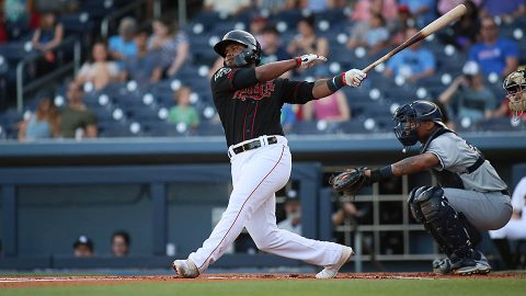 Anthony Garcia Drills Game-Tying Homer in Ninth, Nashville Sounds Scores Four in the 10th. (Nashville Sounds)