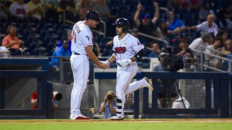 Nashville Sounds Opens Seven-Game Homestand With Win Over Fresno Grizzlies. (Nashville Sounds)