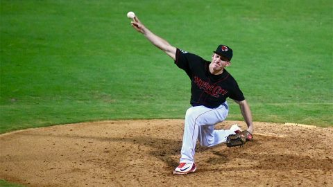 Chris Bassitt Shines on the Mound for Nashville Sounds in Victory over Sacramento River Cats at First Tennessee Park Saturday night. (Nashville Sounds)