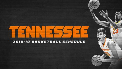 Tennessee Men's Basketball's 2018-19 Season Schedule. (UT Athletics)
