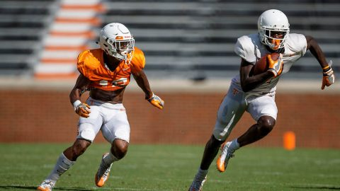 Tennessee Vols Football held their second scrimmage this season Saturday. (UT Athletics)