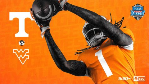 Tennessee Football plays #17/20 West Virginia Saturday at 2:30pm CT. (UT Athletics)
