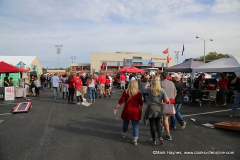 Single-game tickets, Tailgate Alley spots remain for teh 2018 APSU Football campaign.