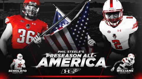 Phil Steel names Austin Peay Football's Jaison Williams to his Preseason FCS All-America Team. (APSU Sports Information)