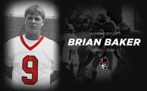 Former Austin Peay Football quarterback Brian Baker passed away July 26th, 2018. (APSU Sports Information)