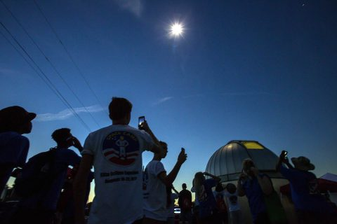 NASA recently honored Austin Peay State University with its Marshall Space Flight Center Group Achievement Award for the University's help during the 2017 Great American Eclipse.