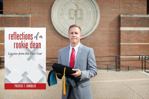 Dr. Preston Chandler took over APSU's Eriksson College of Education just at the school was pursuing Austin Peay State University's first doctoral degree.