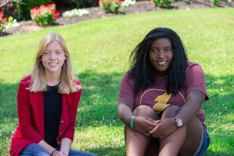 "Austin Peay State University Full Spectrum Learning program mentors Lillan Pllard and Diamond Brant want their mentees to ""be their best selves."""