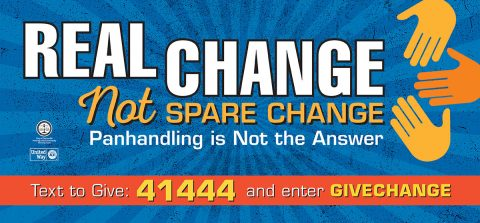 City of Clarksville, United Way's Real Change, Not Spare Change program