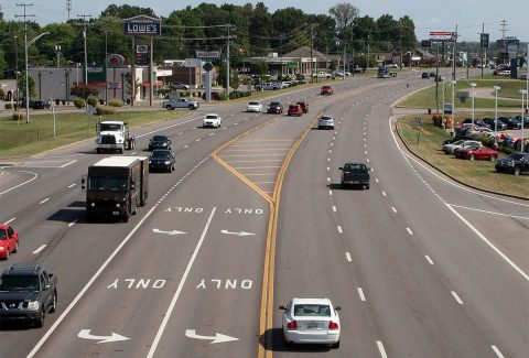 Clarksville has received a $995,400 grant under the federal Congestion Mitigation and Air Quality Improvement  program to install a computerized traffic signal system on Wilma Rudolph Boulevard from I-24 to  the 101st Airborne Division Parkway.