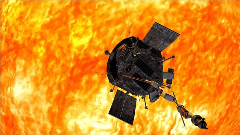 NASA's Parker Solar Probe will travel closer to the Sun than any spacecraft before it. (NASA/Johns Hopkins APL)