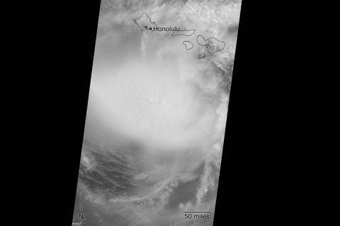 Image of Hurricane Lane. (NASA/GSFC/LaRC/JPL-Caltech)
